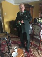 Wręczanie medalu Alemu Szwarcowi